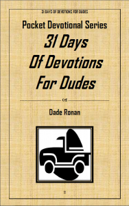 Books - Free 31 Days of Devotions for Dudes Paperback