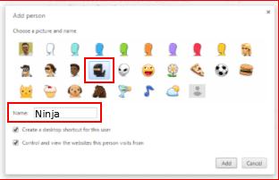 Google Settings Add Person2