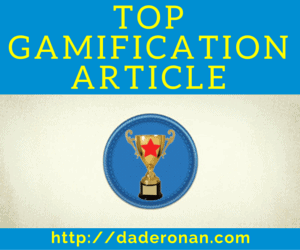 Top Gamification Article Badge 300x250 DadeRonan.com