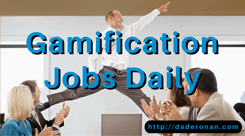 Gamification Jobs Daily Finding Dream Careers