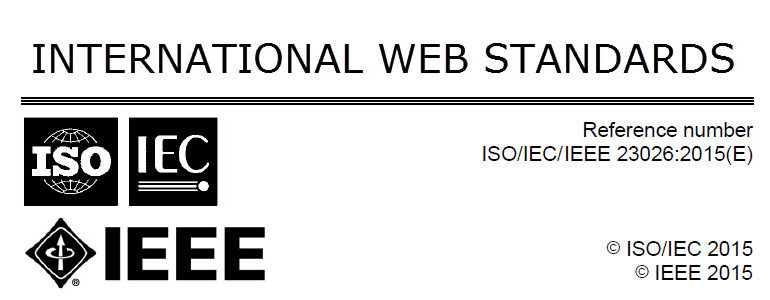 ISO-IEC-IEEE 23026 International Web Standards