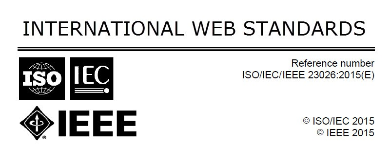 Management of Websites Standards ISO-IEC-IEEE 23026